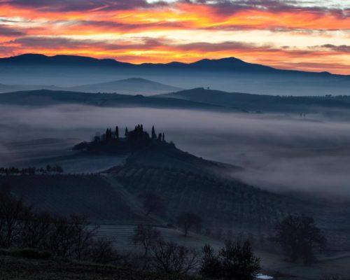 Toscana una regione unica al mondo.
